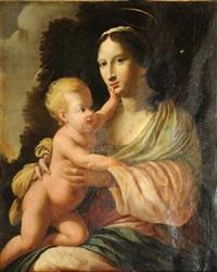 vierge à l'enfant by simon vouet
