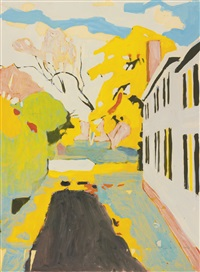 the driveway by fairfield porter