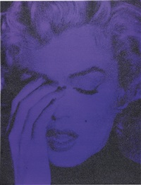 marilyn crying by russell young