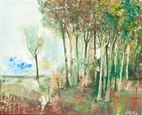 erdő széle by jános miklós kádár