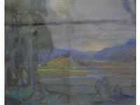 hilly landscape by leonard richmond