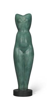 symmetrical torso by alexander archipenko