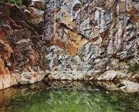 mines #13, inco-abandoned mine shaft, cream hill mine,sudbury, ontario by edward burtynsky