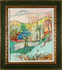 woodstock landscape by judyta sobel