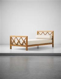 croisillon' bed by jean royère