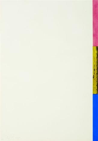 untitled (ruler) by jasper johns