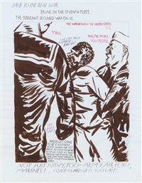 back to the real war by raymond pettibon