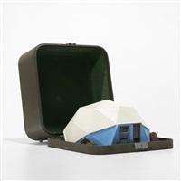 geodesic home model by buckminster fuller
