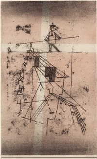 seiltanzer by paul klee