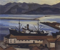 le port de bougie by georges le poitevin