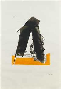 untitled, from the basque suite by robert motherwell
