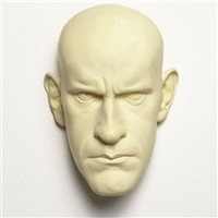 untitled (mask maquette) by ron mueck