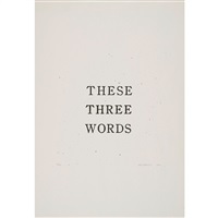 these three words by jiro takamatsu