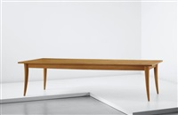 rare dining table by jean royère