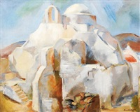 paysage orientale by edith auerbach