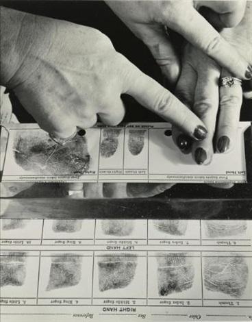 finger printing by andreas feininger