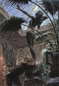 purpurträume (pygmalion) by hugo hoppener fidus