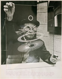 sans titre (photographed by richard hamilton) by marcel duchamp
