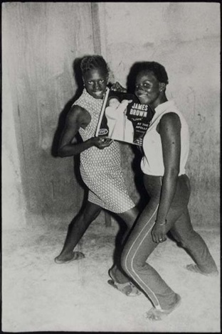 les fans de james brown by malick sidibé