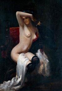 nu by léon joseph florentin bonnat
