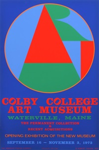colby college arts museum by robert indiana