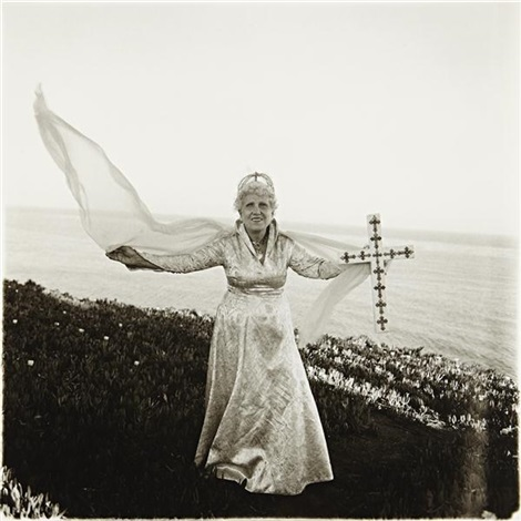 bishop ethel predonzan by sea by diane arbus