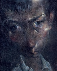 three portrait ( s )( m ) by qiu jiongjiong