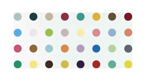 pregnanolone by damien hirst