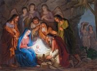 anbetung der hirten by josef arnold the elder
