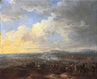 cavalry engagement by robert van den hoecke