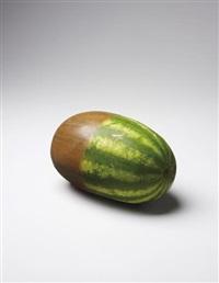 wood 'n' melon by gavin turk