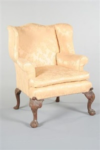 wing armchair by giles grendey