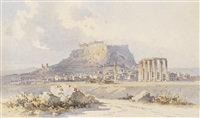 view of athens by angelos giallina