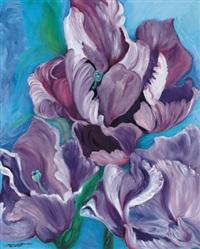 ein hauch von lila blau by gerdi gutperle