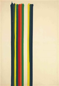 sea gamut by morris louis
