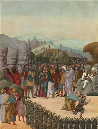the capture of christ by jacopo del sellaio