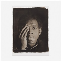 george (from the seeing in the dark series) by rashid johnson