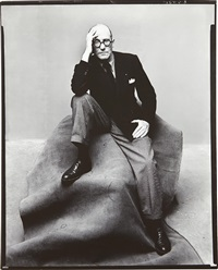 le corbusier, new york by irving penn