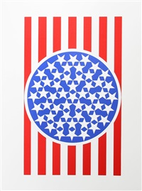 new glory banner from the american dream portfolio by robert indiana