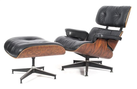 De Eames Stoel : Chair and ottoman von charles and ray eames auf artnet