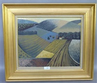 les champs en automne by françois brochet