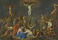 the crucifixion by franz christoph janneck