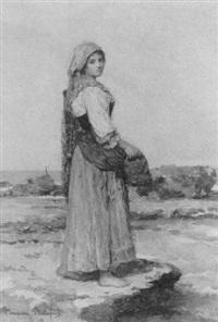 fisherwoman by g. pompiani battaglia
