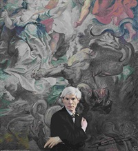 portrait andy warhol by hans namuth