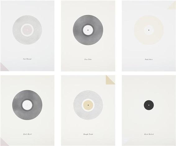 (records set) (set of 6) by matthew brannon