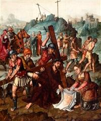 de kruisdraging met het veronicadoek by flemish school (16)