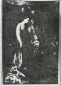 mary & child by gregorio vasquez de arce y caballos