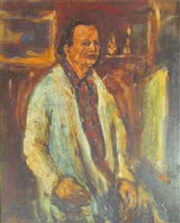 portrait by yitzhak frenkel-frenel