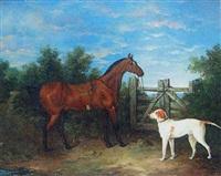 equestrian portrait by g. metsu