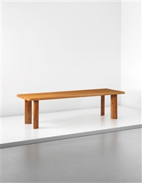 large dining table by charlotte perriand